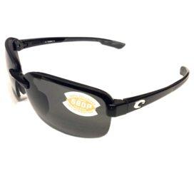 Costa Del Mar Austin Sunglasses - Black Frame - Polarized Gray 580P Lens