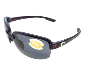 Costa Del Mar Austin Sunglasses - Brown Tortoise Frame - Polarized Gray 580P Lens