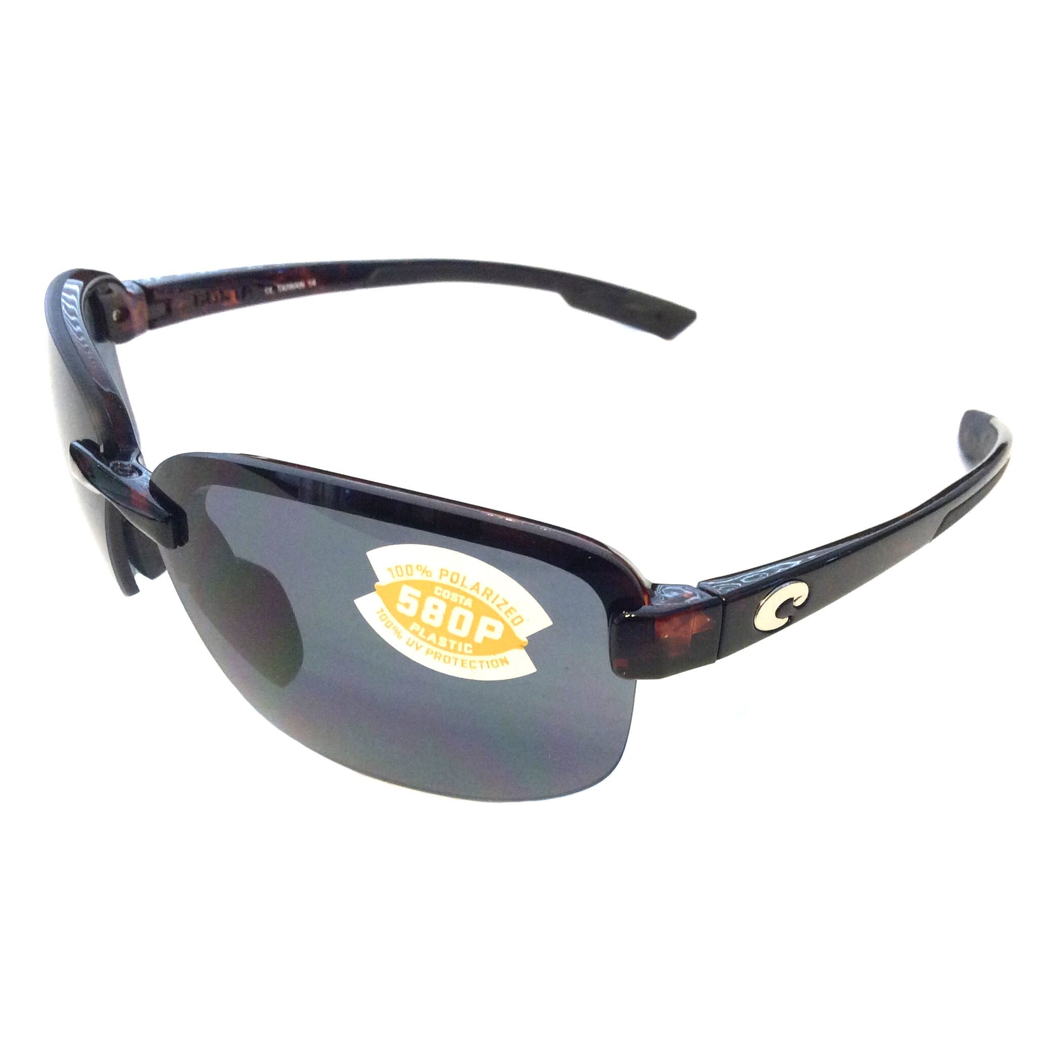 Costa Del Mar Austin Sunglasses - Tortoise - POLARIZED Gray 580P