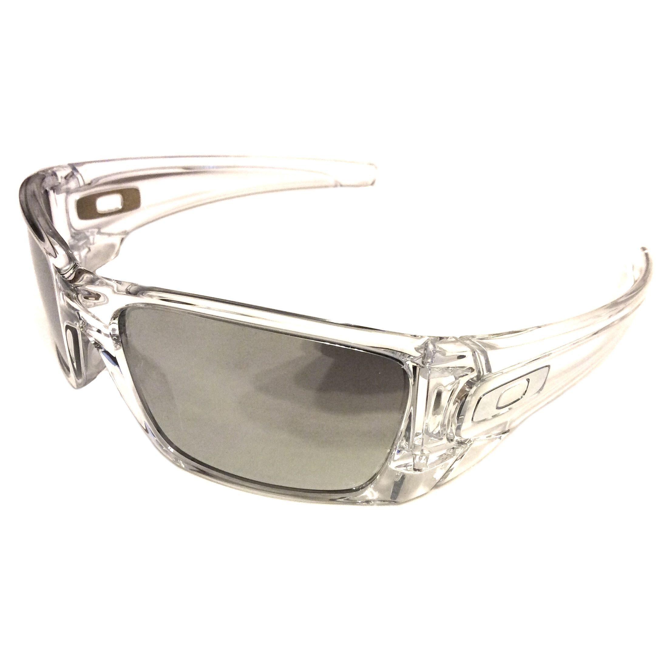 ef847a9991873 Oakley Fuel Cell – Polished Clear – Chrome Iridium OO9096-39 ...