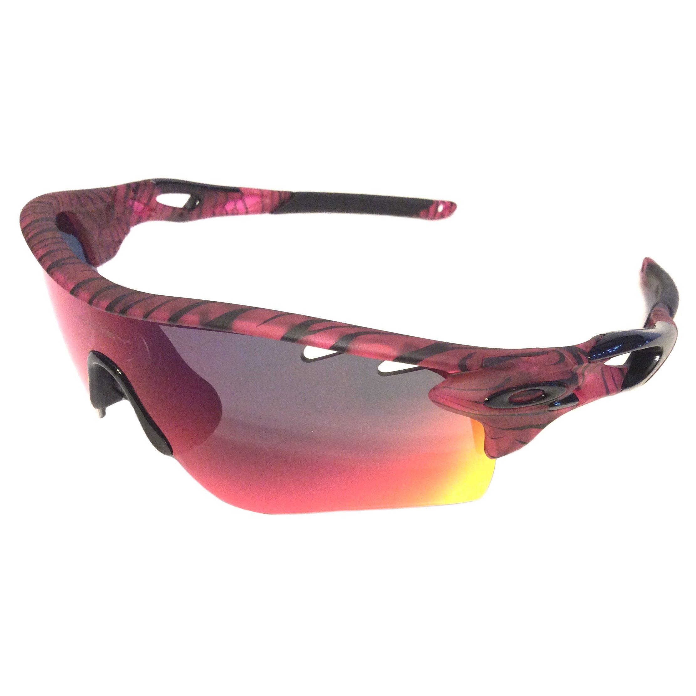 oakley radarlock nose piece 6h5w  Oakley Radarlock Path Vented Sunglasses A Urban Jungle Red Iridium  OO9206-35