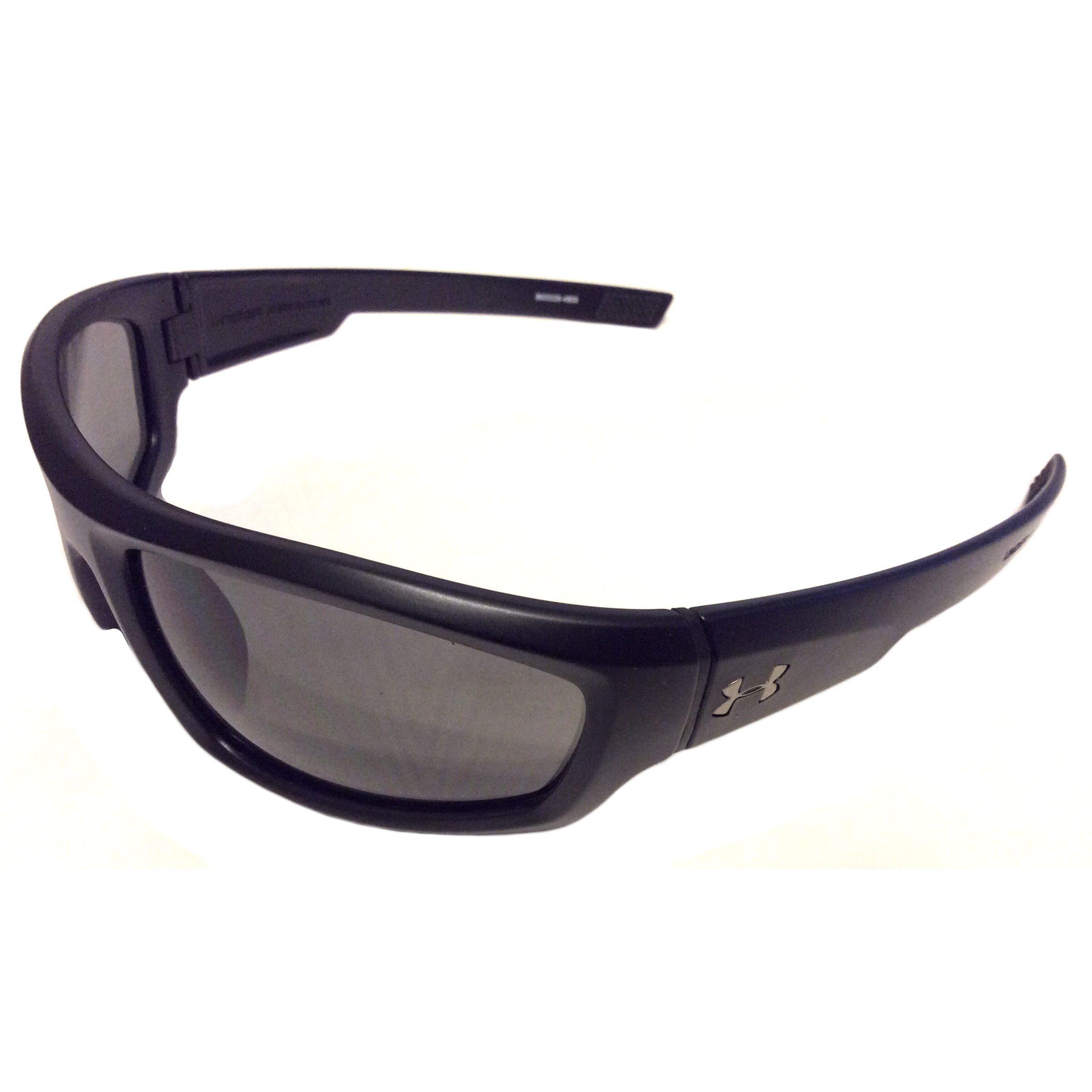 16eb629e10 Under Armour Power Sunglasses UA - Satin Black - Gray 8600026-4800