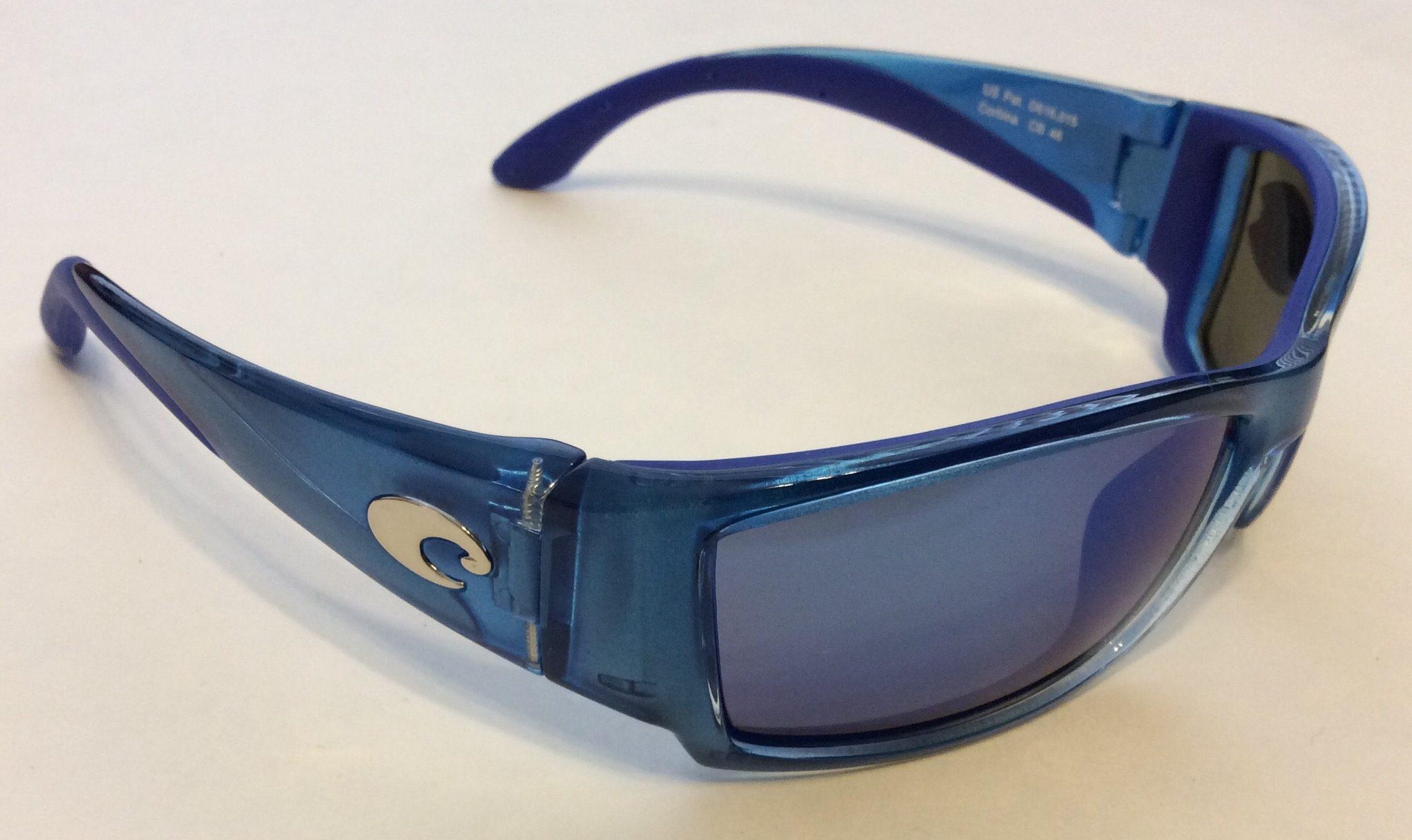 fed7425857 Costa Del Mar Corbina Sunglasses - Sky Blue POLARIZED Mirror 400G Glass