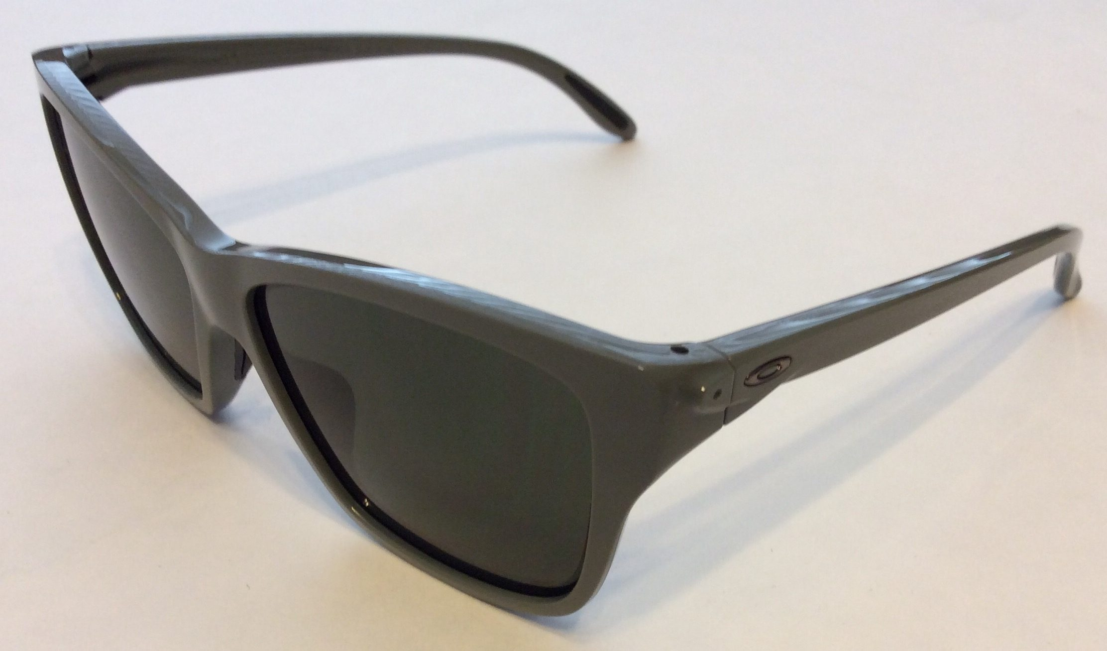 8e94bb3acf45a Oakley Hold On Sunglasses – Light Olive Green Frame – Dark Gray Lens ...
