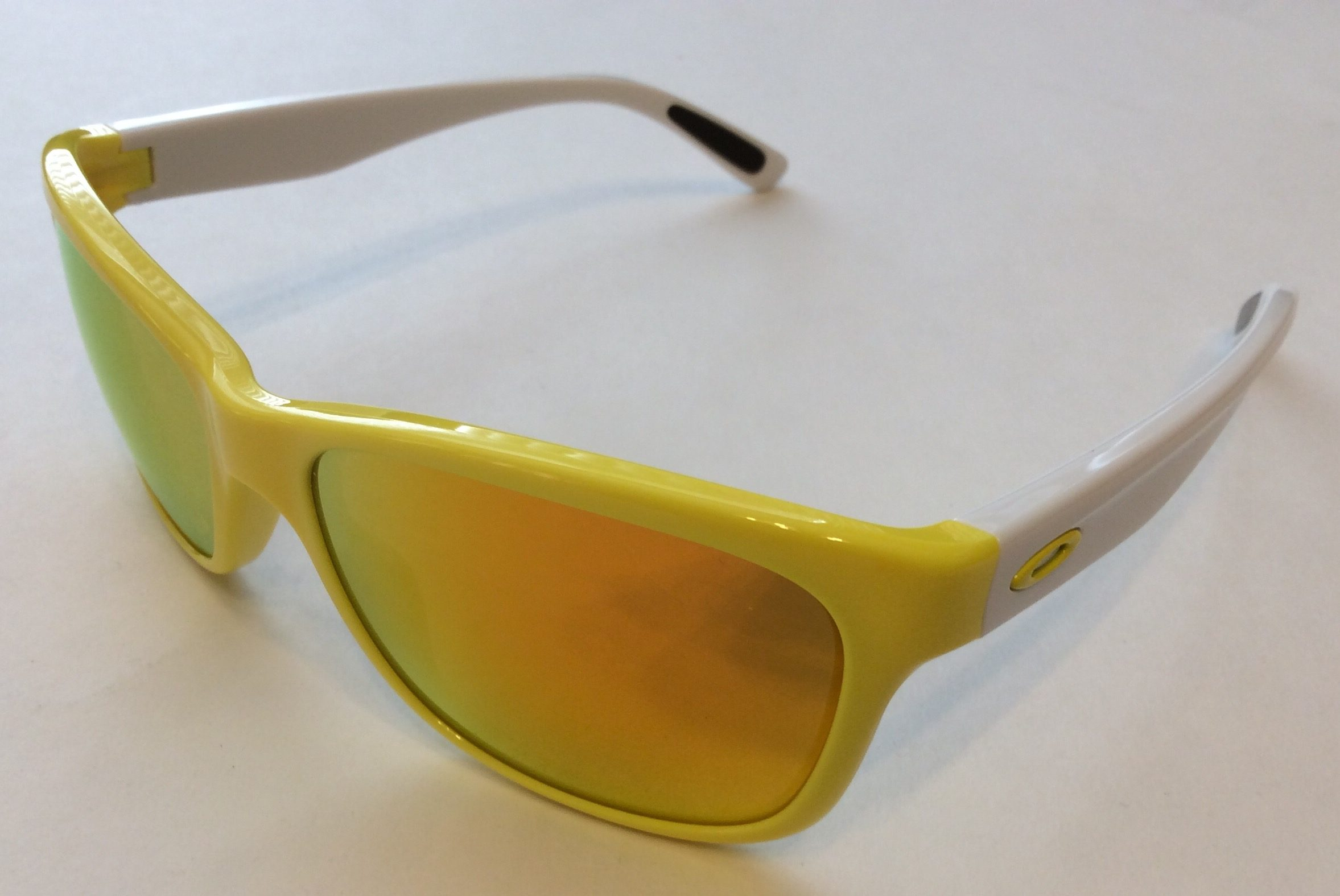 98dc7bb152 Oakley Forehand Sunglasses - Sunflower Yellow White - Fire Iridium OO9179-16