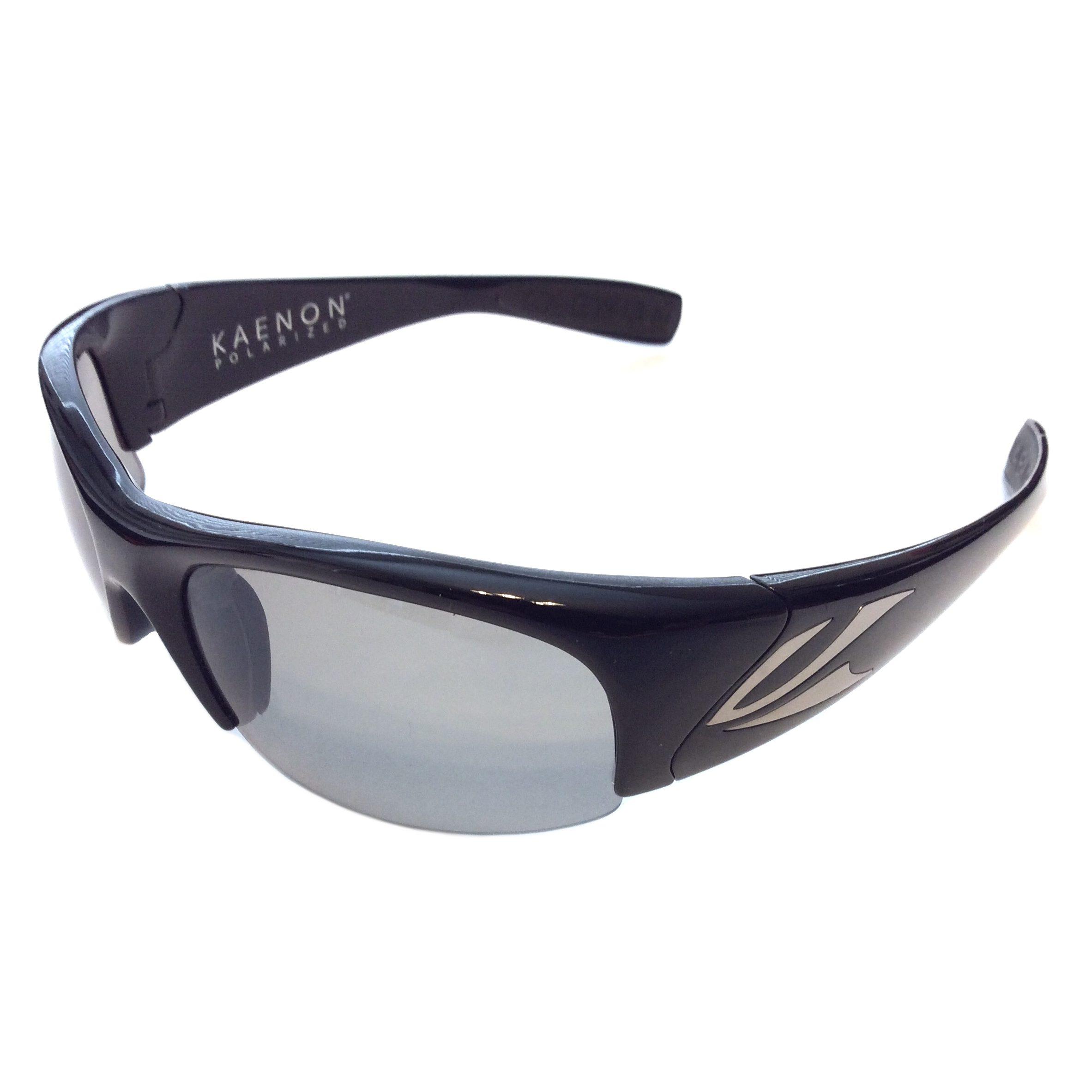 9255ccf87427f Kaenon Hard Kore Sunglasses – Black Frame – Polarized Grey – G28 ...