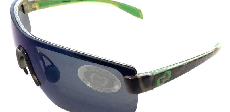 2f49c36018 Native Eyewear Lynx Sunglasses – Lime Burst Green Frame – Polarized Blue  Reflex Lens