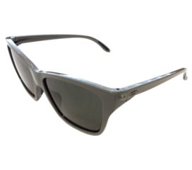 Oakley Hold On Sunglasses - Light Olive Green Frame - Dark Gray Lens 009298-05