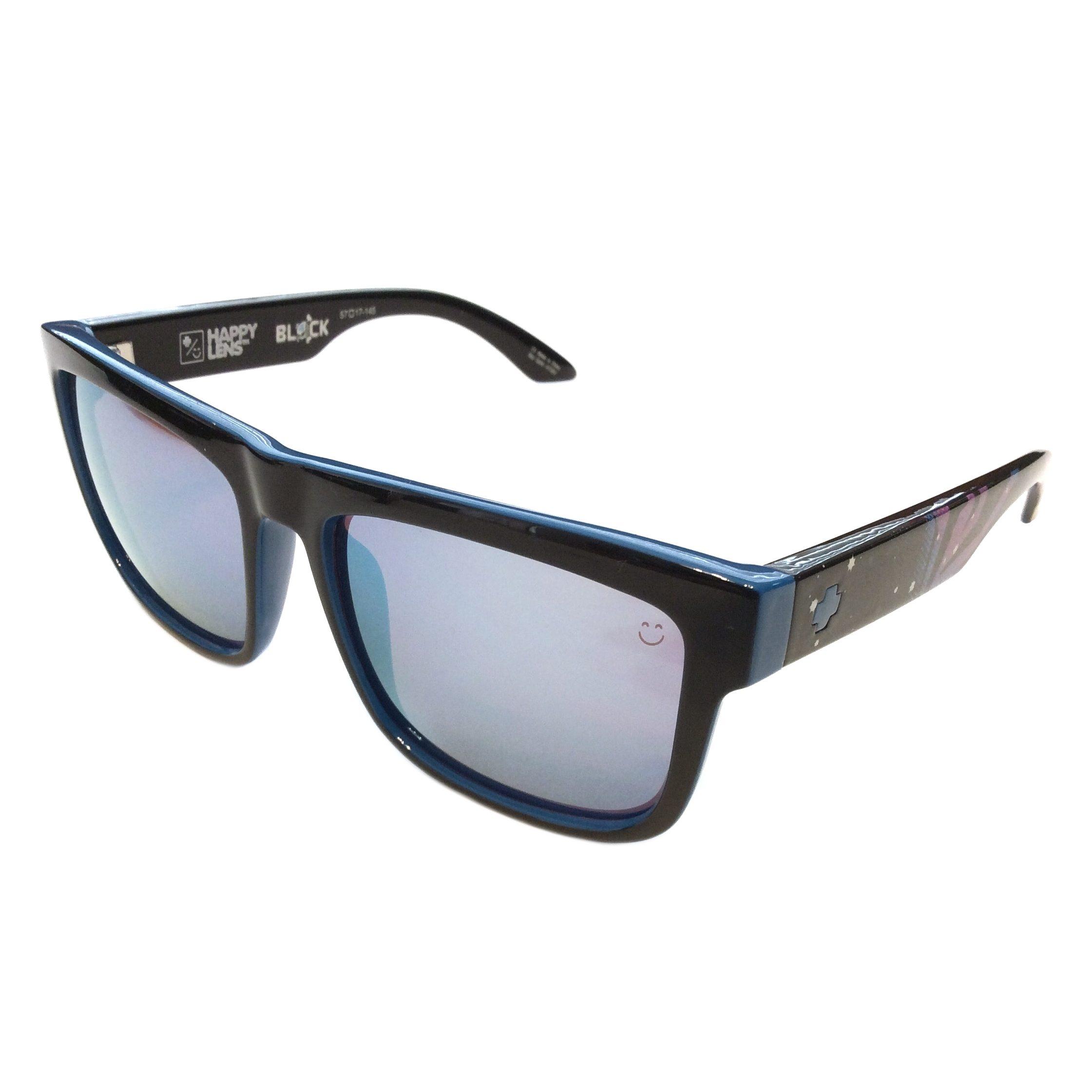 df20bc7de01 Spy Discord Sunglasses – Livery Ken Block Black   Blue Frame – Happy Bronze  Light Blue Lens