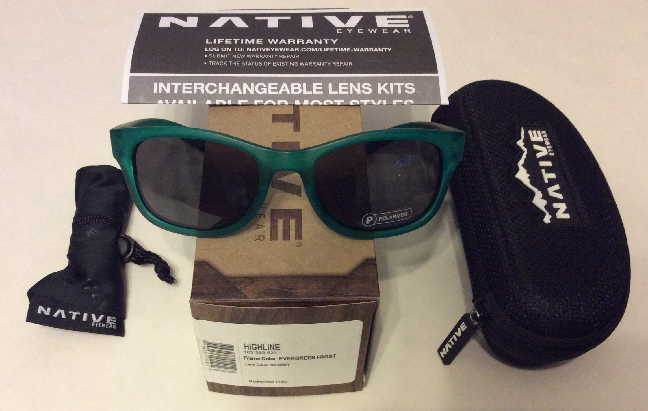 57851d9a202 Native Eyewear Dash Xr Sunglasses - Polarized