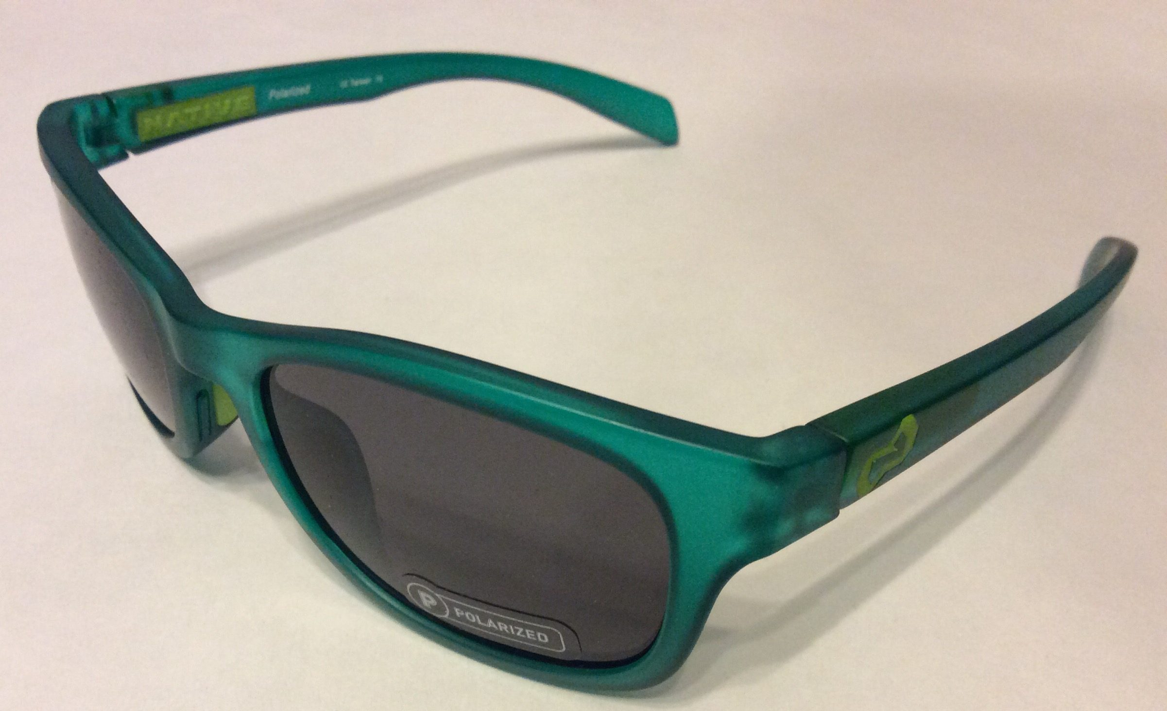 8b65699cb2 Native Eyewear Highline Sunglasses - Evergreen Frost POLARIZED N3 Gray