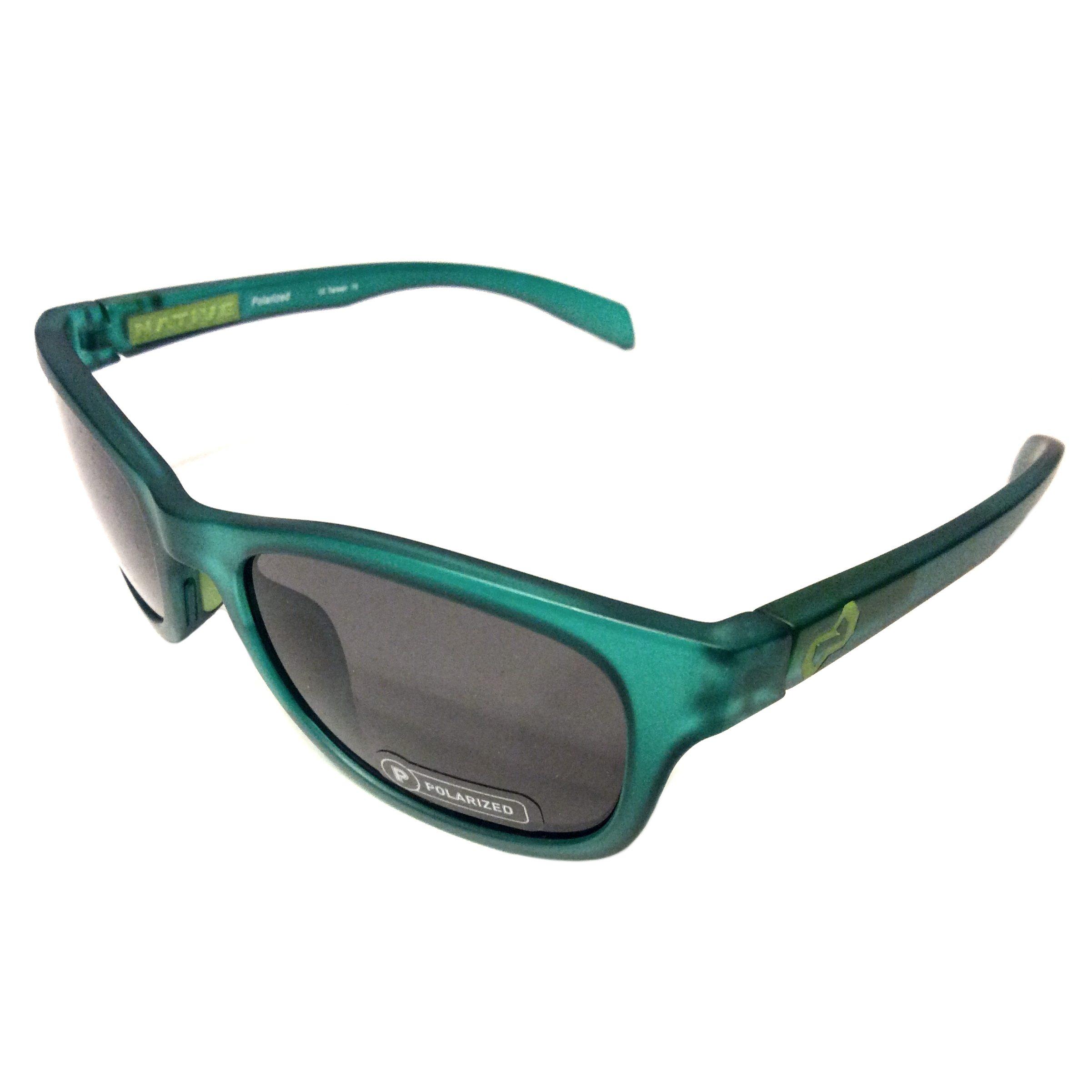 f171b340ed Native Eyewear Highline Sunglasses – Evergreen Frost Frame – Polarized Gray  N3 Lens