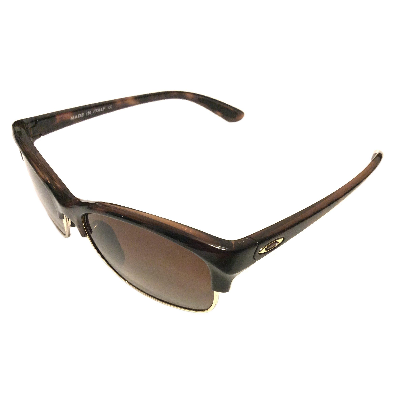 542c88ba3c7 NEW Oakley RSVP Sunglasses – Tortoise – POLARIZED – Brown Gradient  OO9204-03