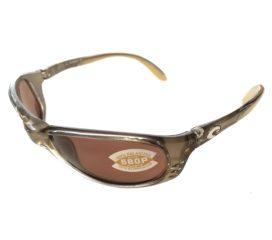 Costa Del Mar Brine Sunglasses - Crystal Bronze Frame - Polarized Copper Lens 580P