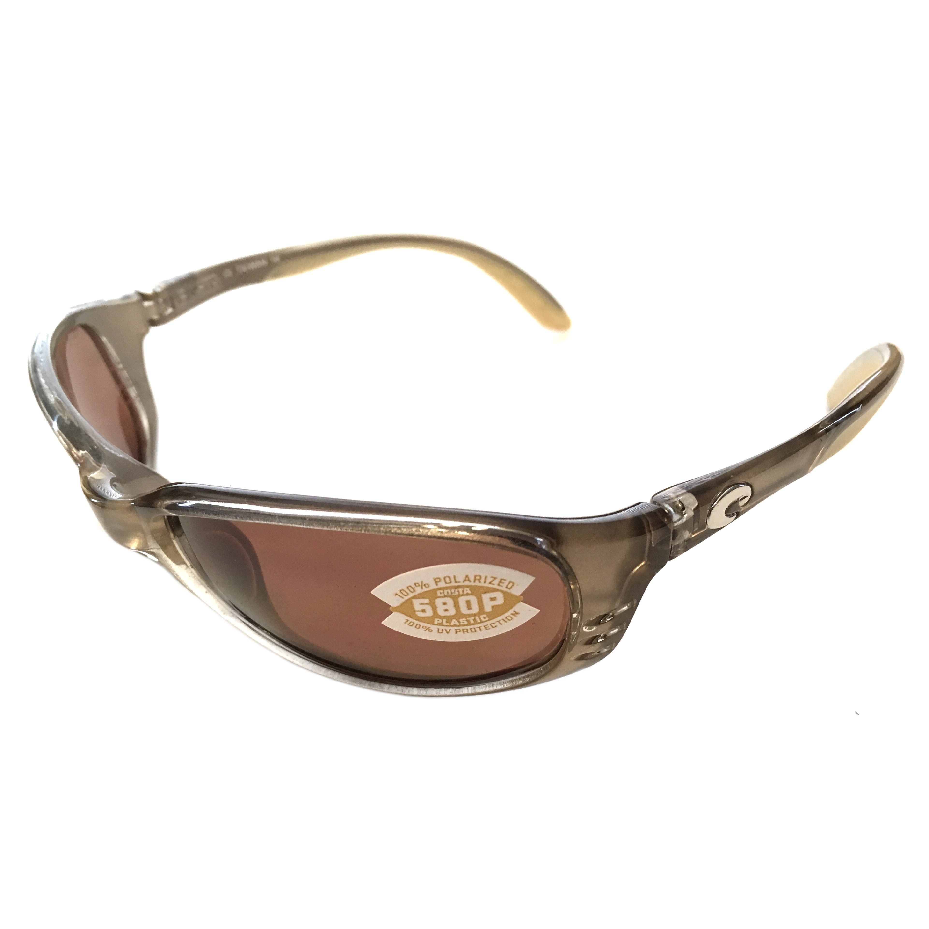 7c6a21674db72 Costa Del Mar Brine Sunglasses – Crystal Bronze Frame – Polarized Copper  Lens 580P
