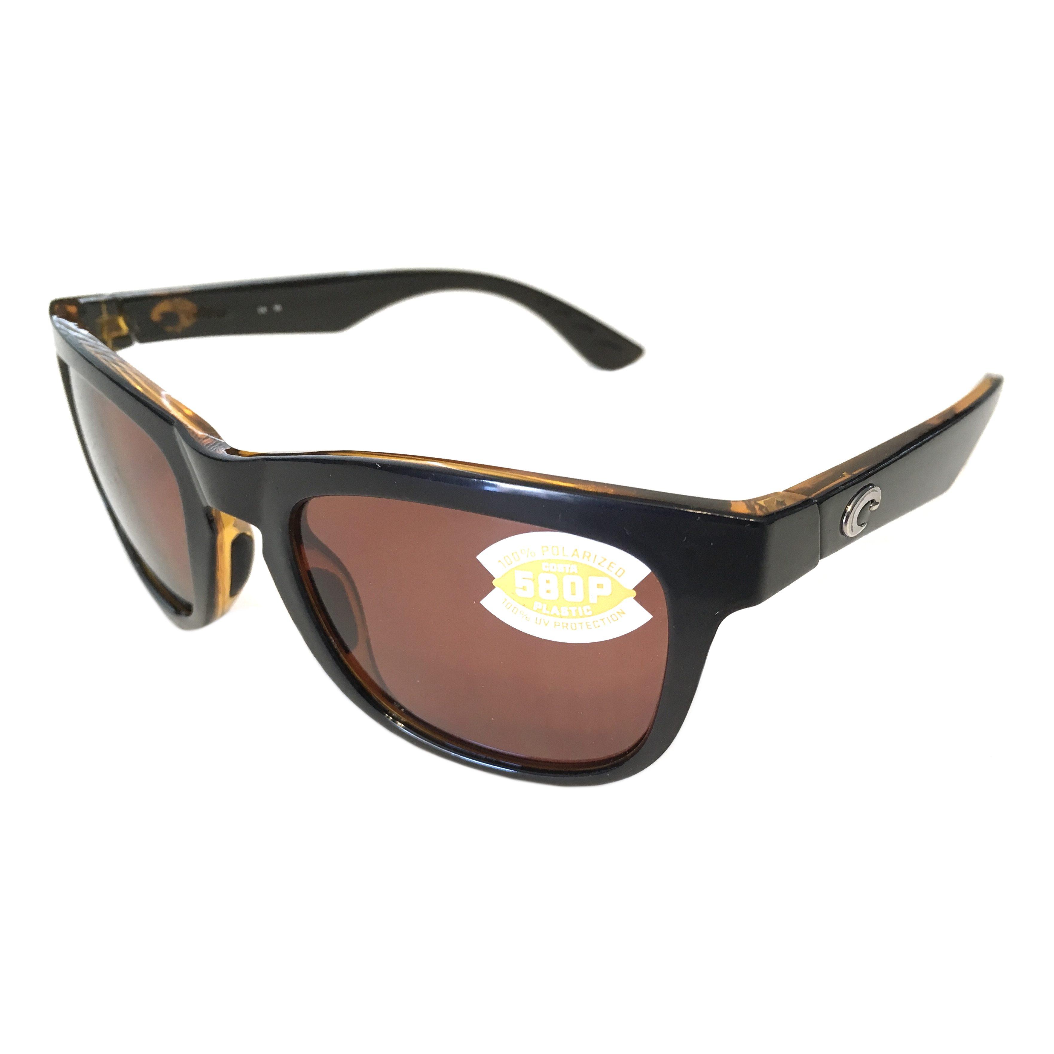 763f121486e Costa Del Mar Copra Sunglasses – Shiny Black Amber – Polarized Copper 580P