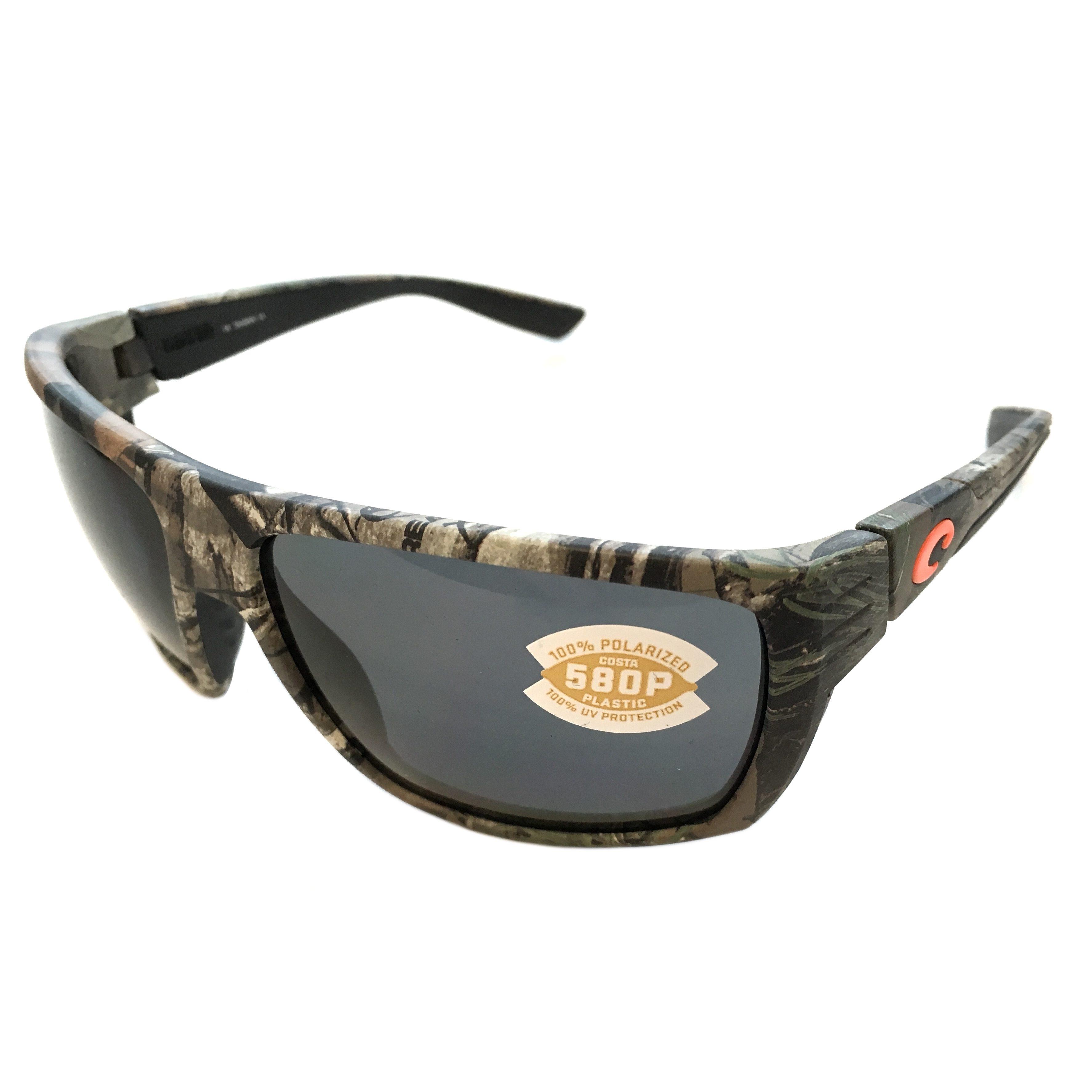 2c1332f984c Costa Del Mar Hamlin Sunglasses – Realtree Xtra Camo Frame – Polarized Gray 580P  Lens