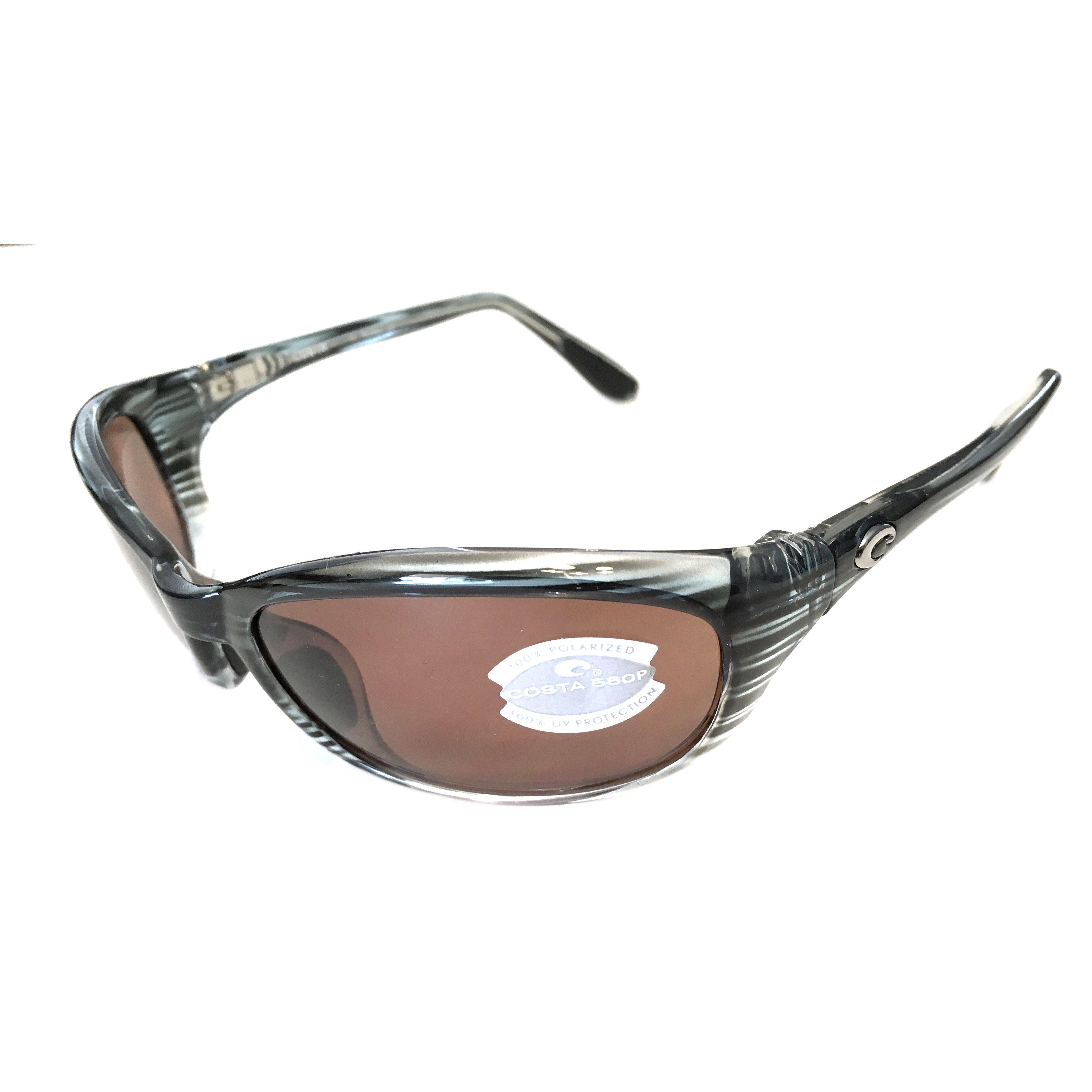 7dd8f5134e Costa Del Mar Harpoon Sunglasses – Topaz Fad Frame – Polarized Copper 580P  Lenses