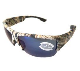 Costa Del Mar Hatch Sunglasses - Mossy Oak Camo Frame - Polarized Blue Mirror 580P