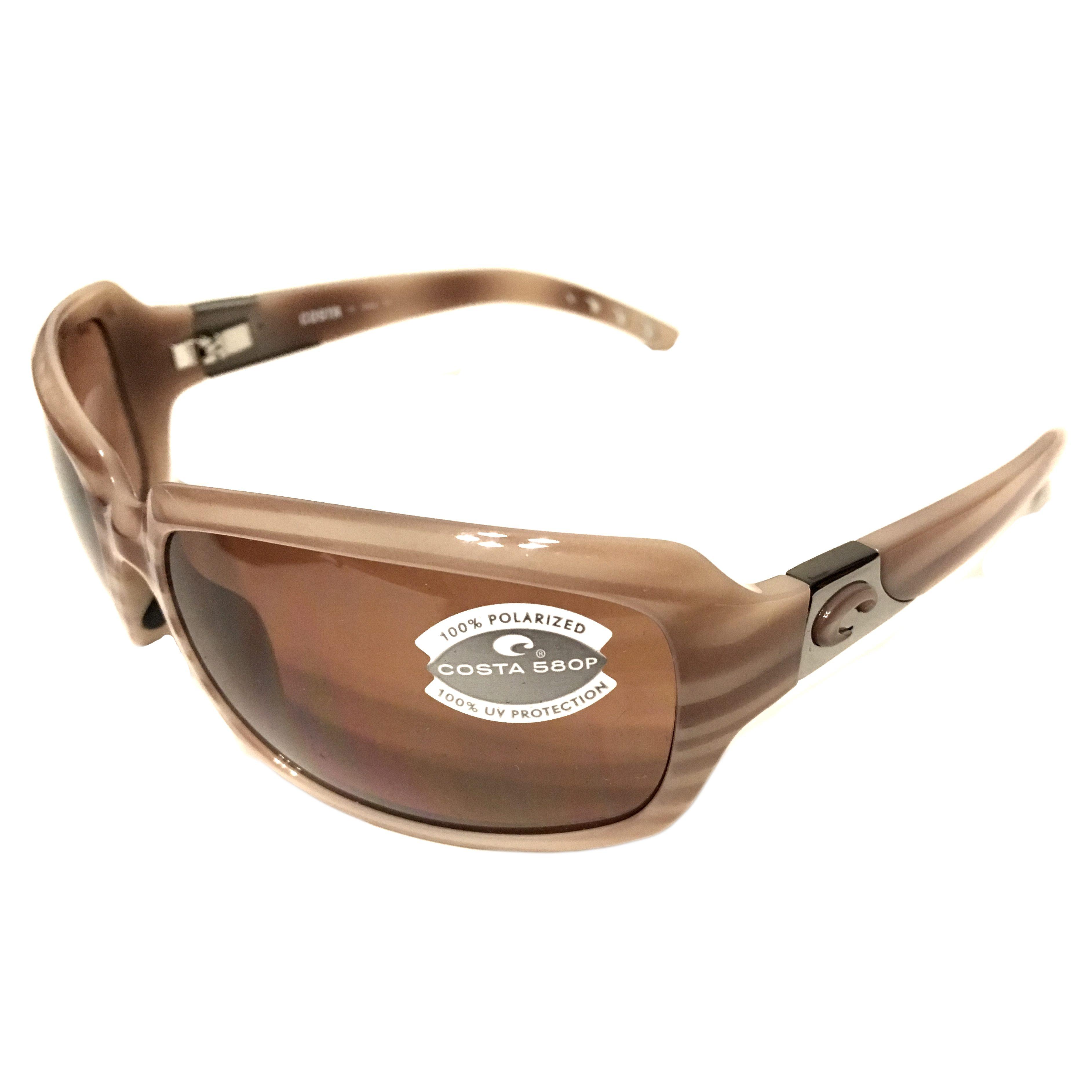 73673a79affb Costa Del Mar Isabela Sunglasses – Tan Morena Frame – Polarized Copper 580P  Lens