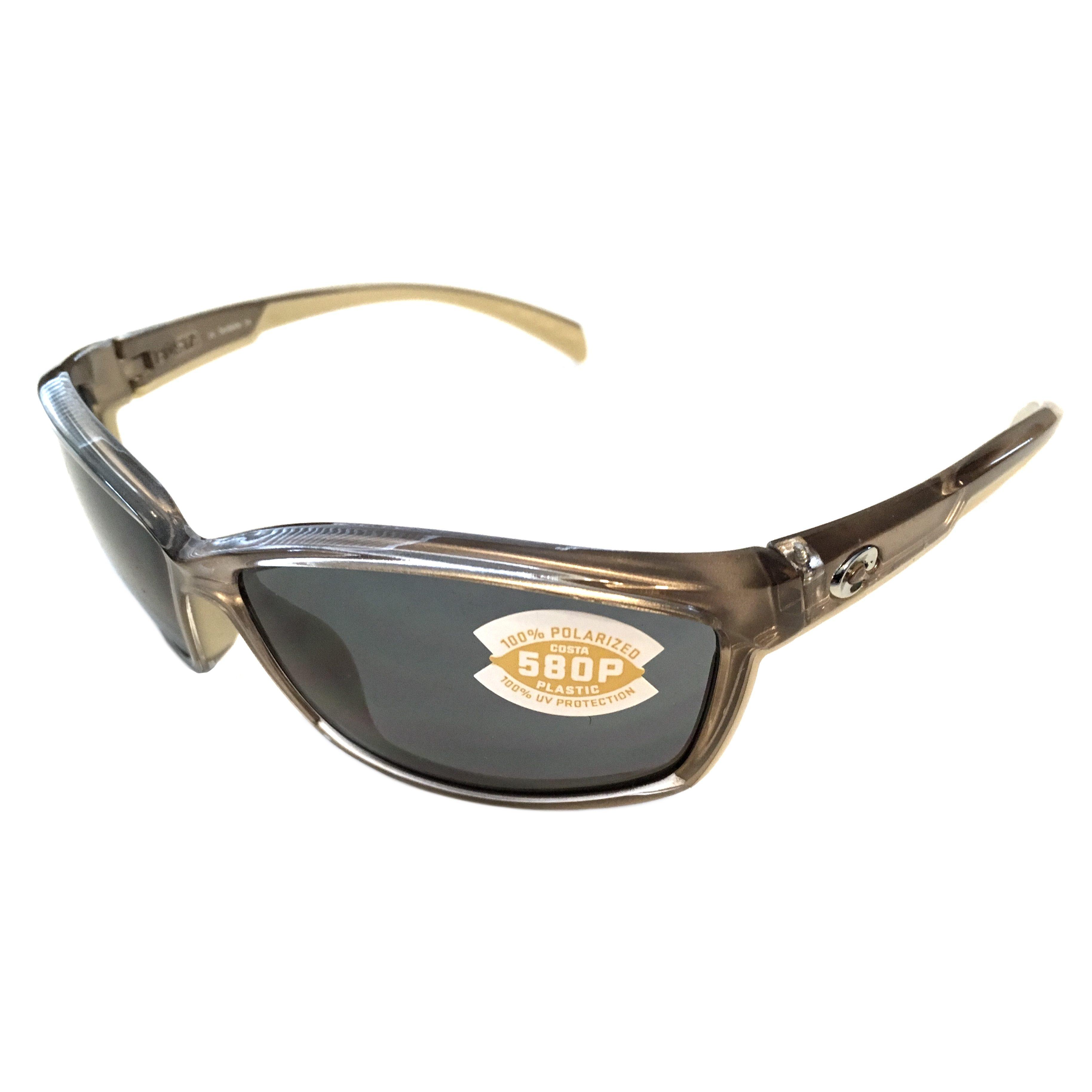 a9f8a06d1cec Costa Del Mar Manta Sunglasses – Crystal Bronze Frame – Polarized Gray 580P  Lens