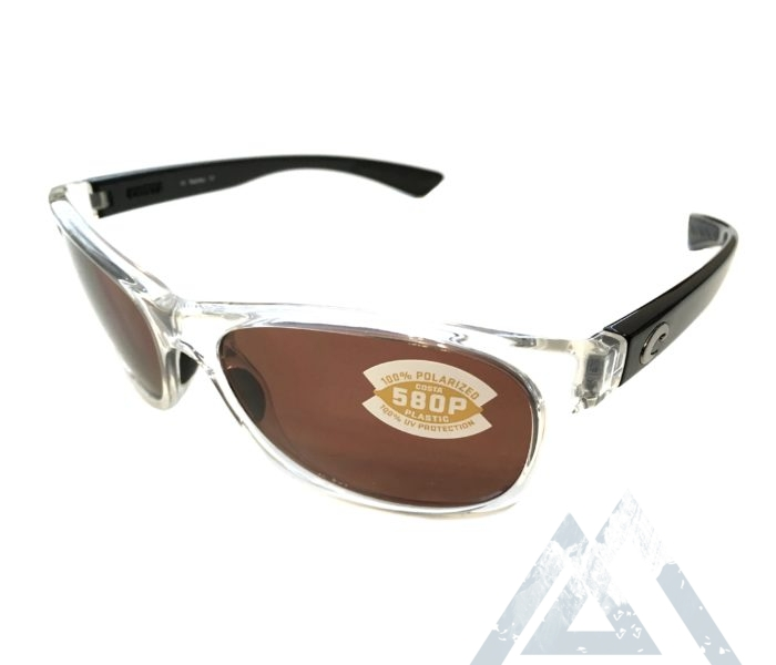 Costa Del Mar Prop Sunglasses - Black Pearl Clear - POLARIZED Copper 580P