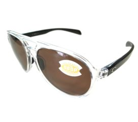 Costa Del Mar Seapoint Sunglasses - Black Pearl Frame - Polarized Amber 580P Lens