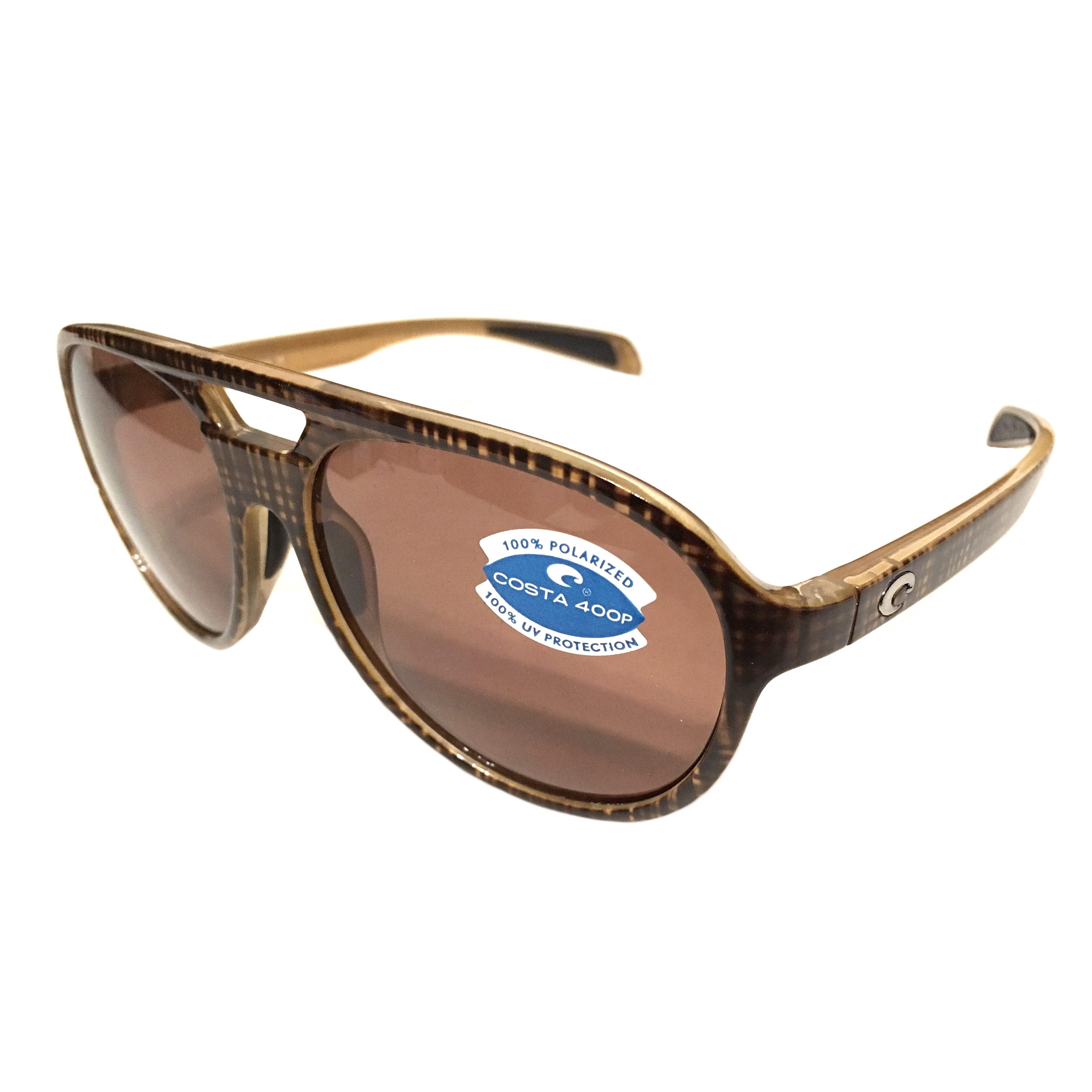 11b8a67a8e Costa Del Mar Seapoint Sunglasses – Scotch Frame – Polarized Dark  Vermillion Lens