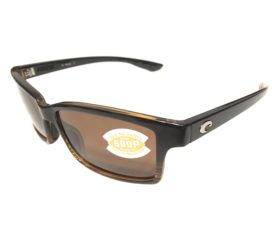Costa Del Mar Tern Sunglasses - Coconut Fade Frame - Polarized Amber 580P Lens