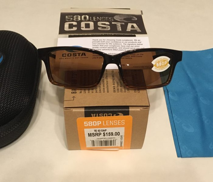 NEW Costa Del Mar Tern Sunglasses - Coconut Fade POLARIZED Amber 580P