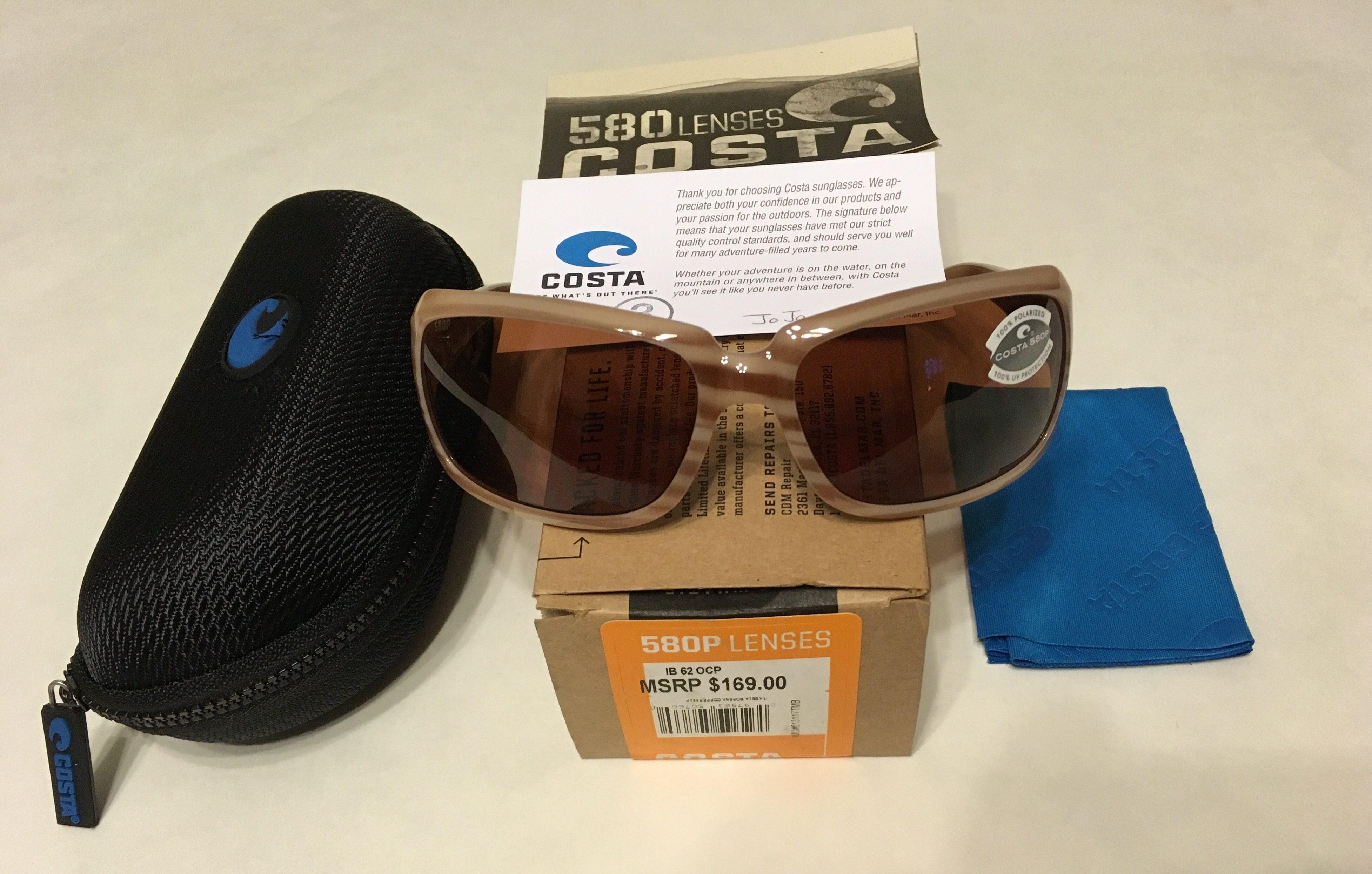 9b5f3fec79da Costa Del Mar Isabela Sunglasses - Morena Frame - POLARIZED Copper 580P