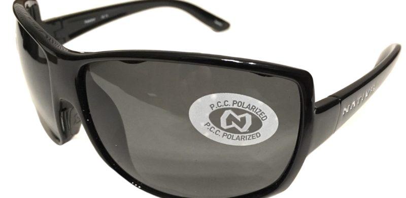 119273d3dd Native Eyewear Chonga Sunglasses - Iron Black Frame - POLARIZED Gray Lens