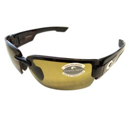 Costa Del Mar Rockport Sunglasses - Tortoise - Polarized Sunrise Yellow Lens 580P