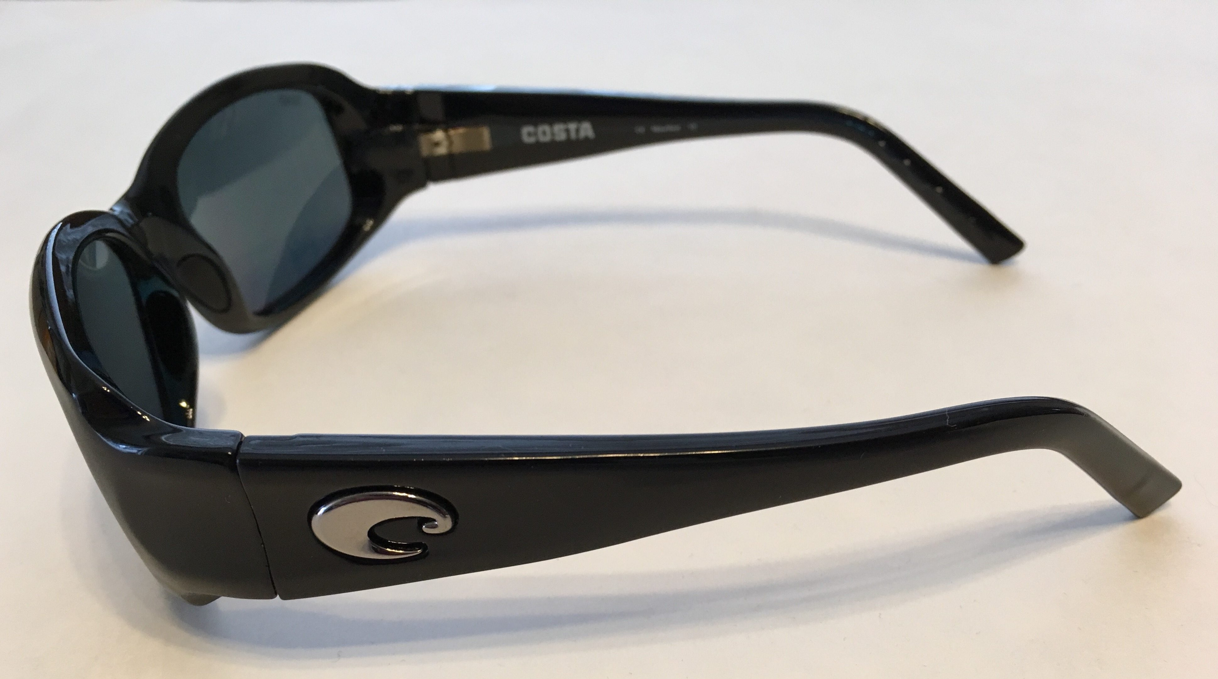 Costa Vela Sunglasses  new costa del mar vela sunglasses black frame polarized gray