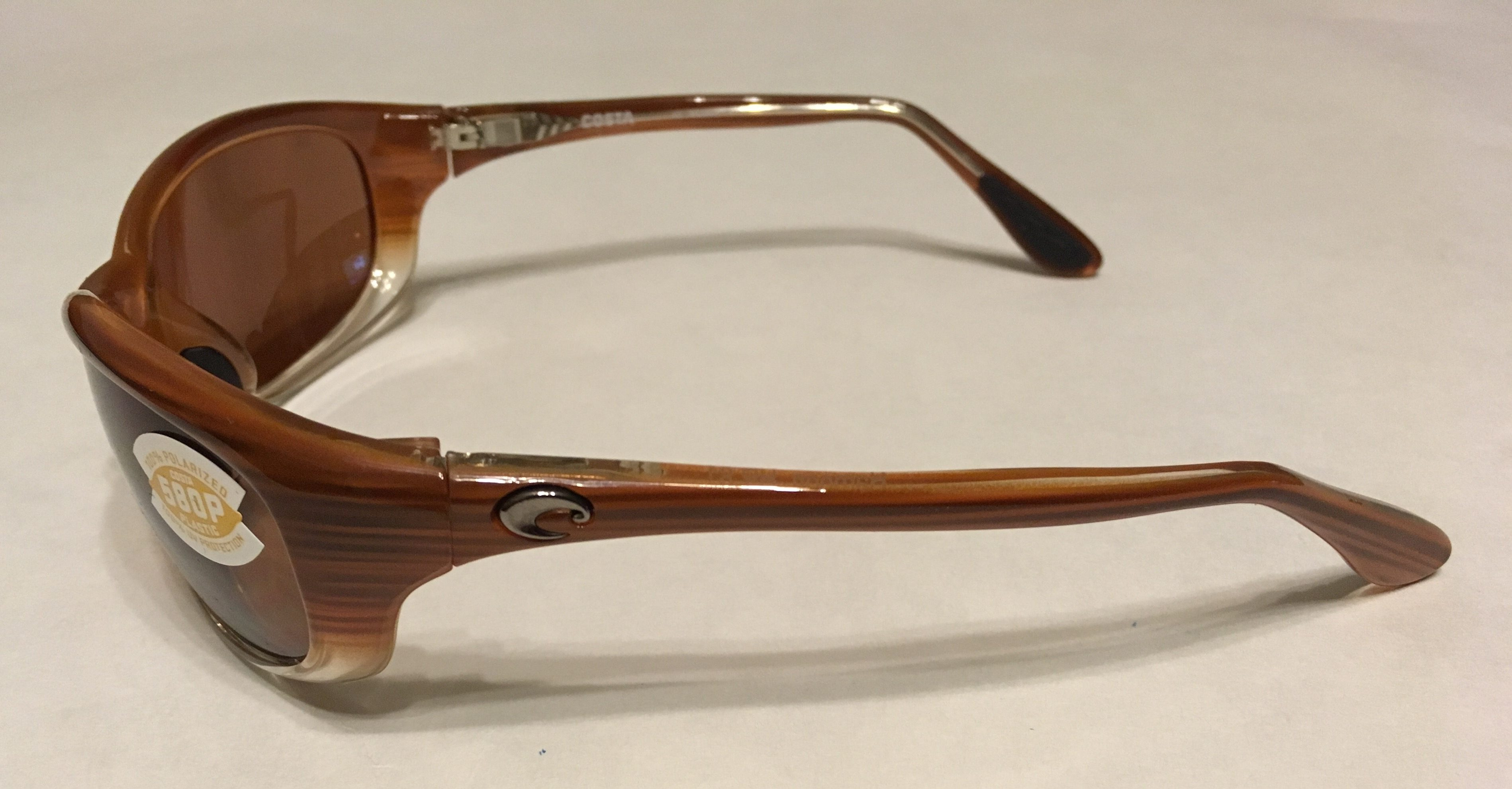 ac36a0b0719f NEW Costa Del Mar Harpoon Sunglasses - Wood Fade - POLARIZED Copper ...
