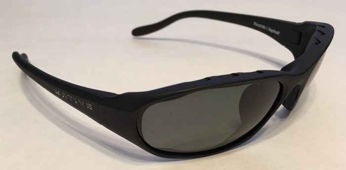 Native Eyewear Throttle Sunglasses - Asphalt Matte Black - POLARIZED Gray