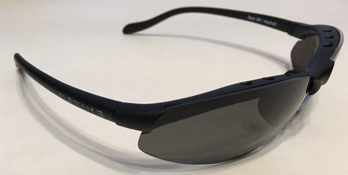Native Eyewear Dash XR Sunglasses - Asphalt Matte Black - POLARIZED Gray