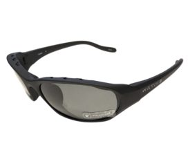 Native Eyewear Throttle Sunglasses - Asphalt Matte Black Frame - Polarized Gray Lens