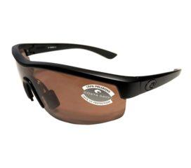 Costa Del Mar Straits Sunglasses - Blackout Black Frame - Polarized Copper Lens 580P