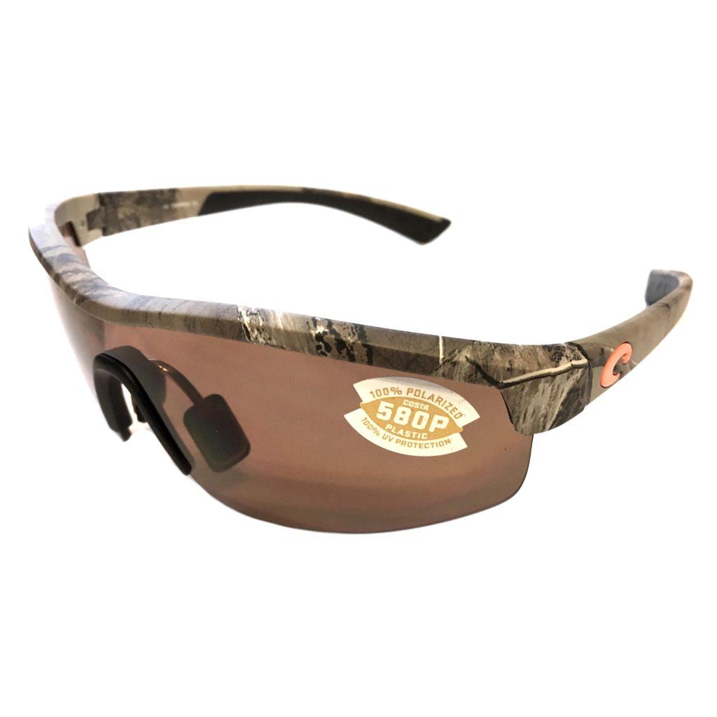 21bdaf93a49 Costa Del Mar Straits Sunglasses – Realtree Xtra Camo Frame – Polarized  Copper 580P Lens .