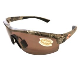 Costa Del Mar Straits Sunglasses - Realtree Xtra Camo Frame - Polarized Copper 580P Lens