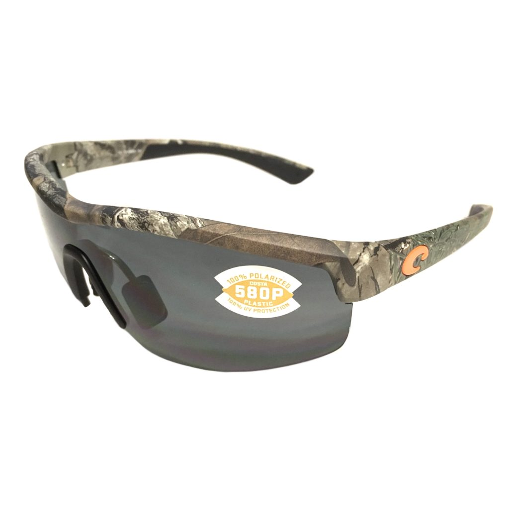 c20093d1774 Costa Del Mar Straits Sunglasses Realtree – Xtra Camo Frame – Polarized  Gray Lens 580P .
