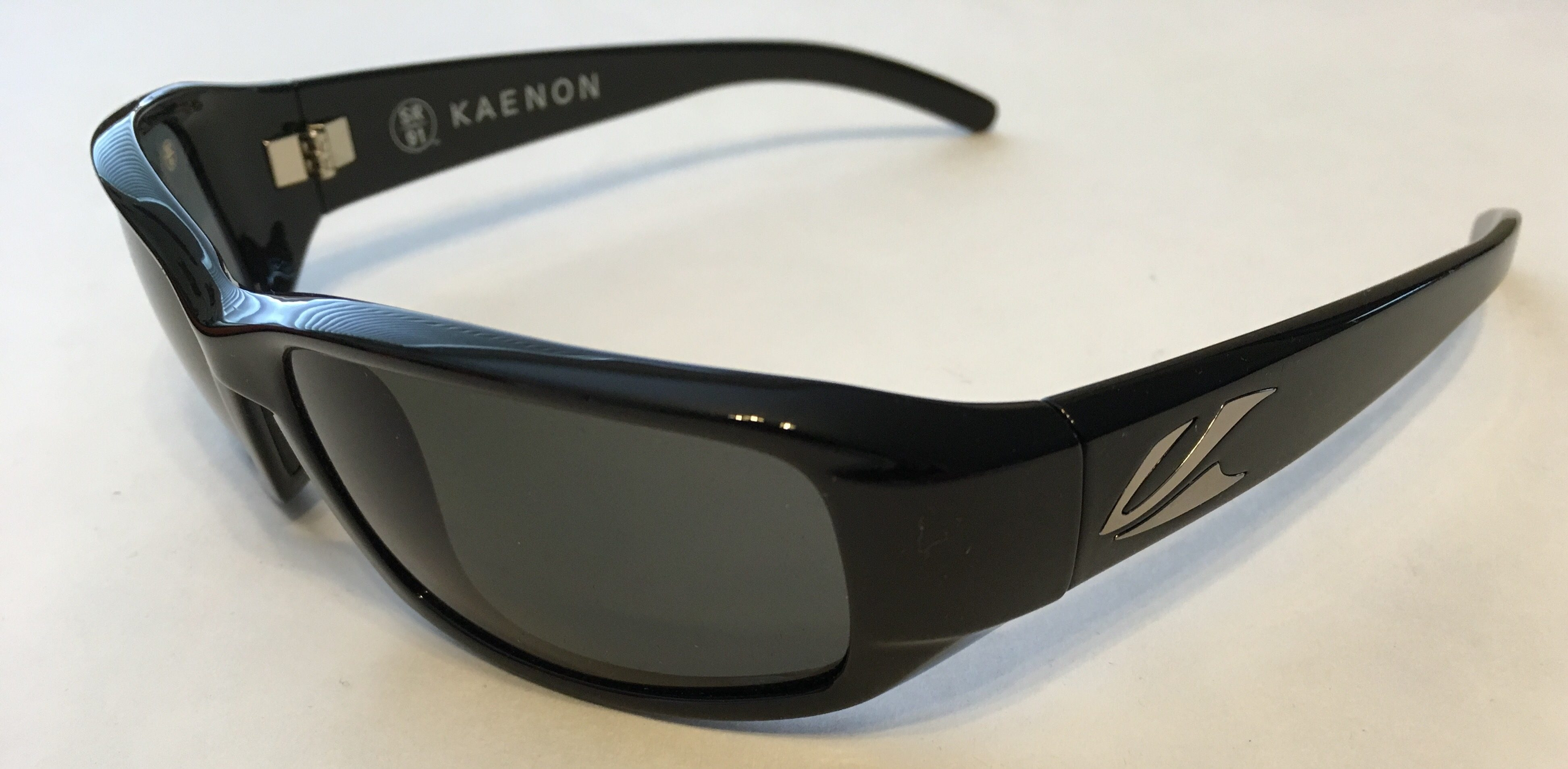 7f52c050d1 Kaenon Beacon Sunglasses - Black Frame - SR-91 Polarized G12 Gray Lenses