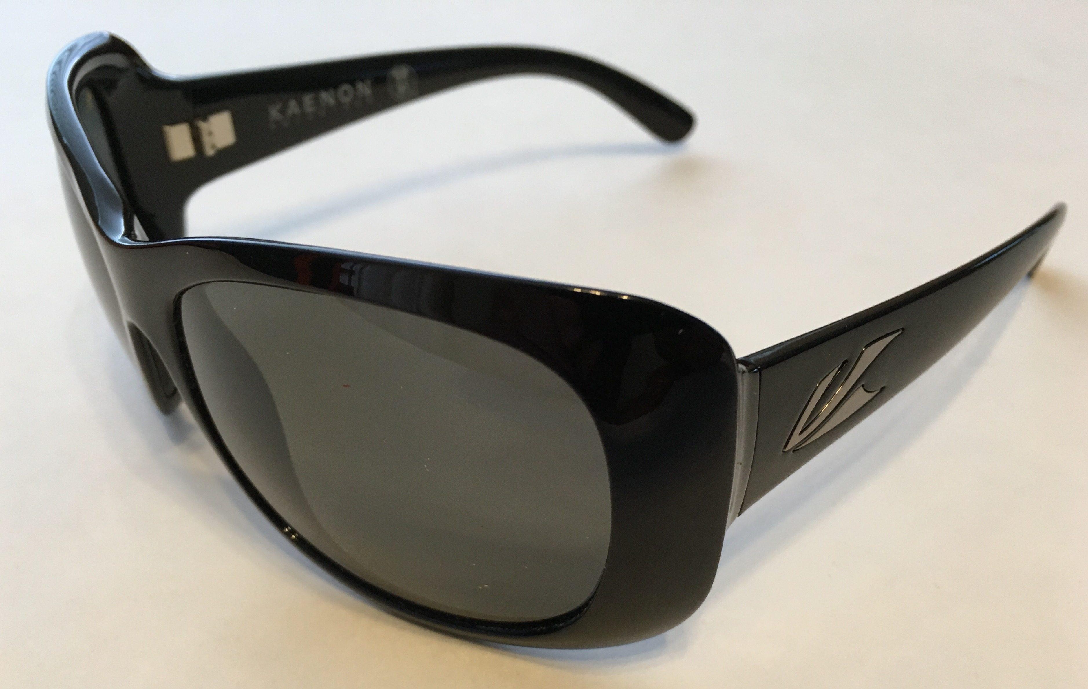 Kaenon Eden Sunglasses - Black Frame - POLARIZED Gray G12 Lens
