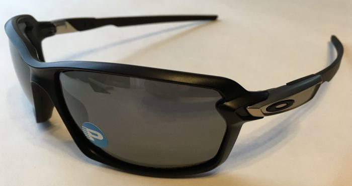 Oakley Carbon Shift Sunglasses Matte Black POLARIZED Black Iridium OO9302-03