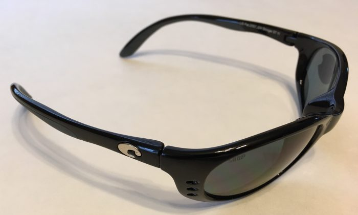 Costa Del Mar Stringer Sunglasses - Black Frame - POLARIZED Gray 580P