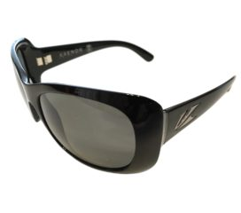 Kaenon Eden Sunglasses - Black Frame - SR-91 Polarized Gray G12 Lenses