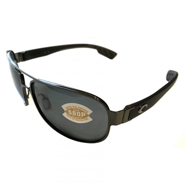 Costa Del Mar Conch Sunglasses - Gunmetal Frame - POLARIZED Gray 580P