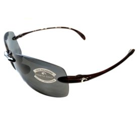 Costa Del Mar Destin Sunglasses - Tortoise Frame - Polarized Dark Gray Lens 580P