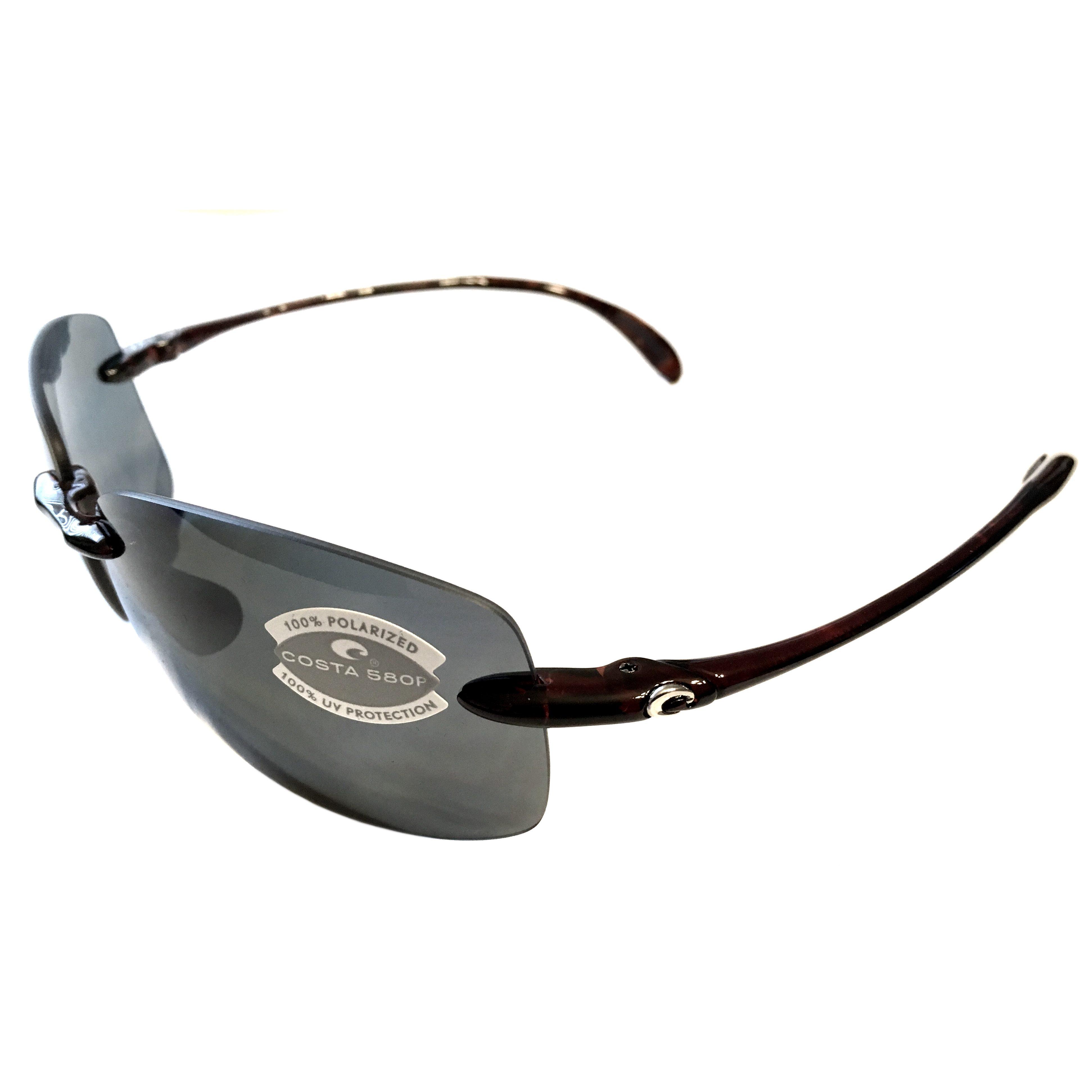 65de7dd0b3 Costa Del Mar Destin Sunglasses – Tortoise Frame – Polarized Dark Gray Lens  580P